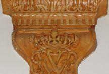 Renaissance Paleis / Sculpturen Ornamenten Monumenten van de KMA
