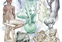Sketchbook | Anatomy Female