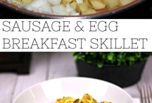 All Things Recipes: Breakfast / Breakfast Recipes that are quick, easy, and can be made for two or a crowd. Recipes include sweet treats, protein, and more!