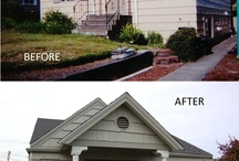 Before & After (Remodels) / Examples of some projects we've done to show the transformation of spaces, inside & out. If you are in the Greater Seattle area looking for a General Contractor to assist with a home addition or remodel, contact Flying Dormer. www.flyingdormer.com
