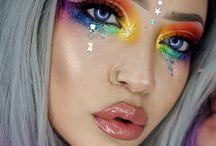 Makeup - Rainbow