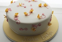 christening cakes / a selection of my christening cakes