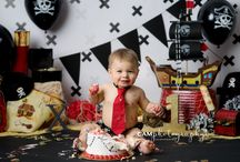Pirate 1st bday shoot