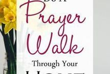 prayer walk in house