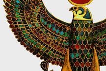 Egyptian jewellery Hawk