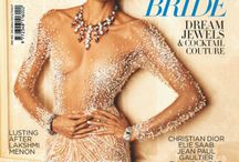Stunning Jewellery from Apala by Sumit featured in Harper's Bazaar Bride.