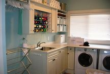 Laundry and wrapping room