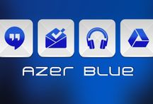 Azer Blue Icon Pack v1.5