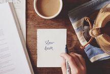 note & book