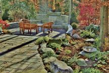 Jane Leigh Luce / Through the Garden Inc. - TOP LANDSCAPE DESIGNER H&D PORTFOLIO - DC/MD/VA - http://www.handd.com/JaneLeighLuce - Landscape designer Jane Leigh Luce brings 18 years of experience and a lifelong passion as a fine artist to her work with Through The Garden Inc.