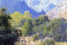 Scenic paintings