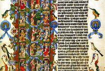 Illumination / Illuminated letters and manuscripts