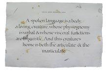Calligraphy: Foundational Hand