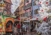 Cartoline Natale 2014 elaborate su foto personali / Creazione cartoline Natale dipinte, elaborate e costruite su riprese personali