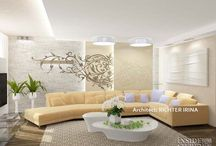 Interiér bytu 243 m2. / Interiér bytu.  Architect: IRINA  RICHTER