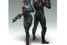Scifi-Characters design