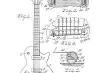 Guitar Patents / To purchase any of these patent digital downloads visit our Store  http://www.photoseeum.com