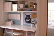 My craft room / by Colleen Mattaline