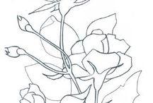 Roses paint / Watercolour demo