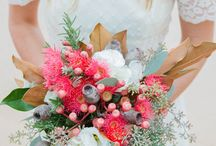 Bouquets- Australian native and rustic style / Rustic and Australian style wedding flowers