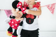 Red Minnie Mouse Birthday