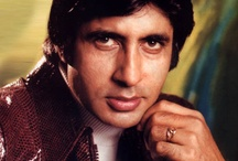 """AMITABH BACHCHAN - LARGER THAN LIFE PERSONA / Amitabh Harivansh Bachchan (on 11 October 1942), is an Indian film actor. He first gained popularity in the early 1970s as the """"angry young man"""" of Hindi cinema, and has since appeared in over 180 Indian films in a career spanning more than four decades. Bachchan is widely regarded as one of the greatest and most influential actors in the history of Indian cinema."""