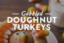 Thanksgiving 2017 / Enjoy our favorite doughnut-inspired holiday how-to videos and recipes to set your meals, parties, and decorations a-glaze.