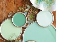 Aqua, turquoise and teal / by Debbie Rochon