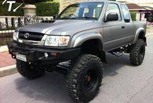 4WD / Camionetas y accesorios soñados