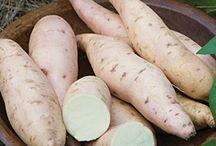 Πατάτες-γλυκοπατάτες