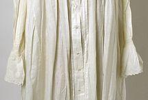 REGENCJA - koszule nocne/ REGENCY ERA - nightgowns
