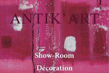 ANTIKART DECORATION / Virginie VITA a crée ANTIK´ART en 1995. Elle a décoré les murs de nombreuses villas de l'île de st BARTH et a redonné vie à bon nombre de vieux meubles oubliés. Cette expérience ĺ´a naturellement conduite à la création de la boutique ANTIK´ART fin 2012 où meubles rénovés, tableaux d'artistes d'horizons divers, petite déco originale se côtoient dans un univers tout en couleurs.