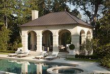 Inspiration-Pools and Pool Houses / pools, pool houses