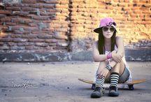 V - Skate Board Girl / V - Skate Board Girl