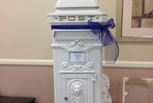 Post boxes and card collection / Keep your cards and messages safe with out card collection boxes, choose from replica post boxes, wishing well, birdcage or rustic milk churn.  All can be hired from Make It Special Events. www.makeitspecialevents.co.uk