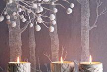 white party / party decor, table design