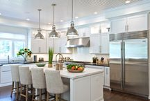Kitchen inspiration / Kitchen ideas for building a home