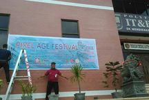 2016/02/28 Pixel Age Festival / @IT&B, Jalan Mahoni, Medan.