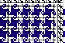 4-shaft weaving patterns