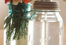 Mason Jar Decor / Creative Mason Jar Decor Ideas For A Baby Shower