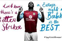 Aston Villa 2015/16 / New season home and away kits.