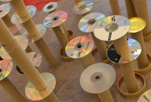 Recycled CD Craft ~ Kreasi CD Bekas