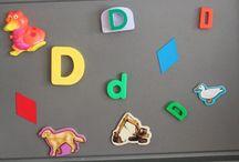 Alphabet- D