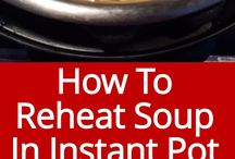 reheating in the instant pot