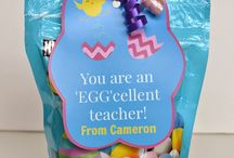 Easter teacher gifts
