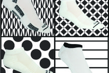 Classic Black & White Socks | Made For High Performance / Classic black & white socks made for all-sports. Get them here: http://www.ausangatesocks.com