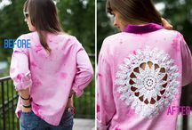 DIY Doily And Lace Projects / DIY projects made with doilies and lace