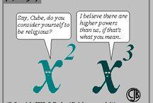 Science + Math jokes