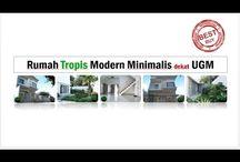 Rumah dijual dekat UGM Yogyakarta