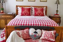 Polka Dots and Gingham / Red and white makes my heart sing! / by Magazine Your Home